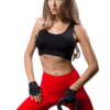 Training bra and leggings sprotswear