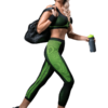 Sportswear training bra and legging