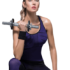 Training bra and leggings activewear
