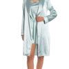 slip and robe set